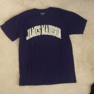 Champion James Madison university tee